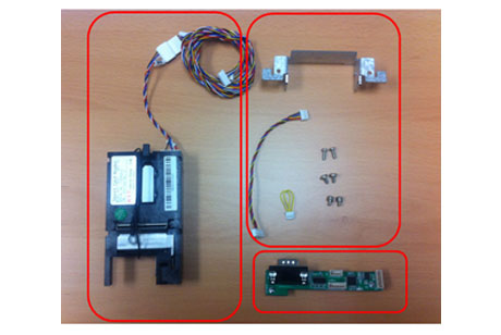 Hantle / Tranax T4000 EMV Upgrade Kit